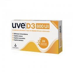 UVE D3 800 UI comprimés...